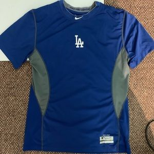 Nike Los Angeles Dodgers pro combat shirt